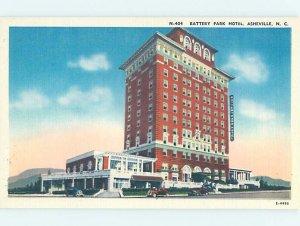 Linen HOTEL SCENE Asheville North Carolina NC AE1727