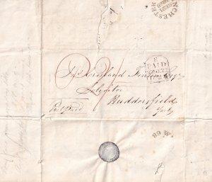 Winchester Huddersfield Yorkshire Victorian 1828 Debt Letter