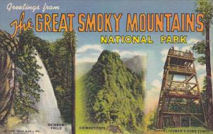 Greetings From The Great Smoky Mountains National Park Curteich
