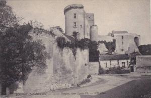 LOCHES - 10 - Donjon; tour Louis XI, Indre et Loire, France, 10-20s