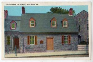 Edgar Allen Poe Shrine, Richmond VA