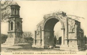 France, St. Remy de Provence, Les Monuments Romains attri...
