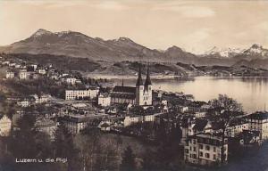 RP, Panorama, Luzern U. Die Rigi, Switzerland, 1900-1910s