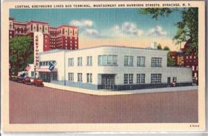 Central Greyhound Lines Bus Terminal, Syracuse NY