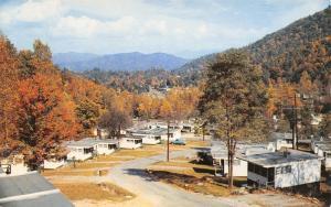 Fontana Dam North Carolina~Village Resort Cottages~1960s Postcard
