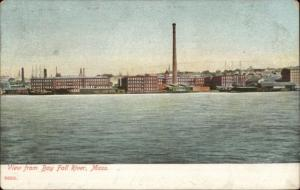 Fall River MA c1910 Postcard #12 FROM BAY