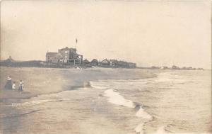 11389 Beach, sepia print