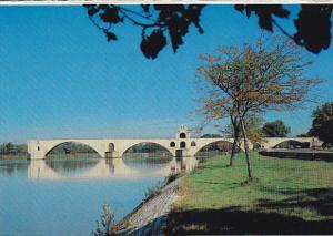France Avignon Le Pont St Benezet