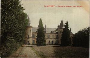 CPA AK St-Anthot - Facade du Chateau prise du parc (586412)