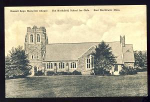 East Northfield, Massachusetts/MA/Mass Postcard, Russell Sage Chapel