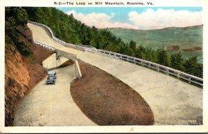 Virginia Roanoke The Loop On Mill Mountain