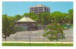 Tennis Courts & New Administration Building, Princeton Univ., Princeton, New ...
