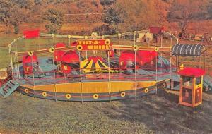 Faribault MN The Famous Tilt A Wheel Amusement Park Postcard