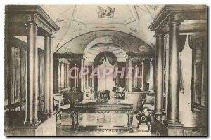 Old Postcard Malmaison Library