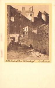 Scotland, UK Old Vintage Antique Post Card Little Lochend Close, Old Edinburg...