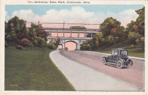 Entrance to Eden Park - Cincinnati, Ohio - WB