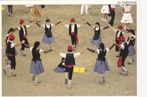La Sardana (type of circle dance typical), Traditions Du Roussillon, France, ...