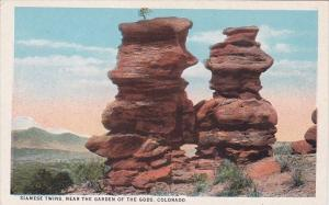 Colorado Colorado Springs Siamese Twins Near The Garden Of The Gods