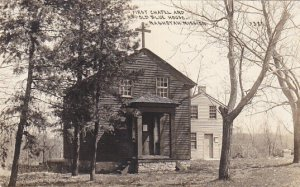 RP: First Chapel & Old Blue House , Nashotah Mission , Wisconsin , 00-10s