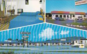 3-Views, Motel Claude, Ville,  Province of Quebec, Canada, 40-60s