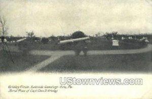 Gridley Circle, Lakeside Cemetery - Erie, Pennsylvania