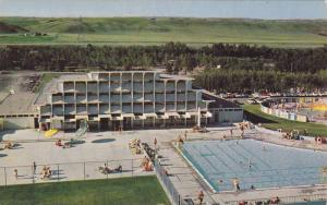 Two swimming pools and other attractions, Happy Valley, Calgary, Alberta, Can...