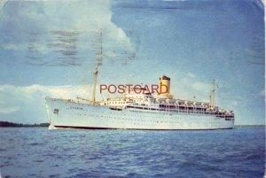 Continental-size SS CHUSAN P& O cruise ship (Peninsular & Oriental) 1967