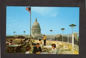 WI Park Motor Inn Hotel Capitol Sq Madison Restaurant Wisconsing Postcard