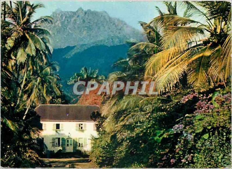 Modern Postcard the Beautiful Books Guadeloupe St Claude View on the Sulfur min