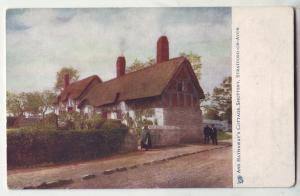 P428 JL old tucks postcard ann hathaway,s house shottery