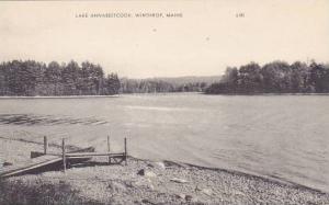 Maine Winthrop Lake Annabestcook