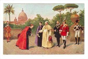 S. S. Pio XI E La Sua Corte Nei Giardini Vaticani, 1900-1910s