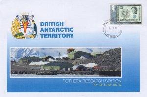 British Antarctic Territory Rothera Research Station Ltd FDC