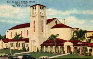 Florida Orlando St James Catholic Church Curteich