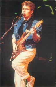 English singer songwriter composer multi instrumentalist Nik Kershaw postcard