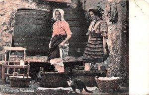 Scotch Washing Scotland, UK 1904