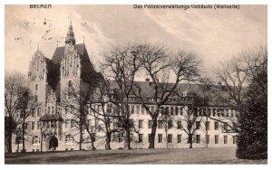 Germany Bremen  Das Polizeiverwaltungs-Gebaude