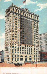 Whitehall Building, New York, N.Y., Early Postcard, Unused