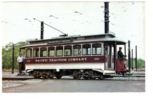 Pacific Traction Trolley Car Riverside Terminal, Massachusetts 1977