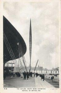 Postcard exhibitions Skylon South Bank Exhibition Britain Festival 1951
