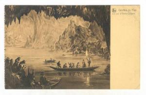 Canoes, Le Lac d'Embarquement, Grottes De Han, Belgium, 1900-1910s