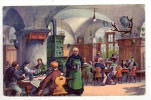 Das Braustubl zu Kloster Andechs, Germany, PU-1928