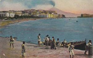 Pescatori Nel Golfo, Napoli (Campania), Italy, 1900-1910s