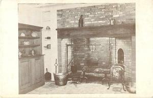Kitchen with Hand-made Utensils & Furniture Arkansas Territorial Restoration