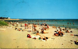 Massachusetts Beach At Green Harbor 1960