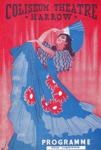 Nicolette Roeg Chenie in Blake's 7 Happy Marriage Romance Theatre Programme