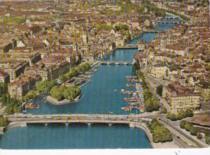 Switzerland Zurich Limmat 1965