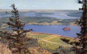 Fidelgo Island Washington~Mt Erie View Island Within~Houses~Whidby~1962 Postcard