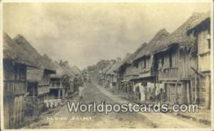 Philippines, Pilipinas Filipino Village Filipino Village Real Photo