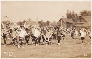 RP: KAMLOOPS, B.C., Canada, 10-20s; Dancing at the May Day 1924 Festival